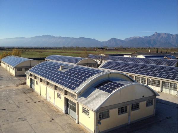 997,92 kWp Caserma Forgiarini Spilimbergo (PN)